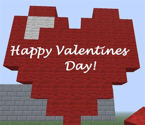 valentines day minecraft happy valentines day from minecraft by flareblitzup on