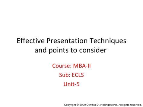 Mba Units by Mba Sem 2 Unit 5 Visual Aids