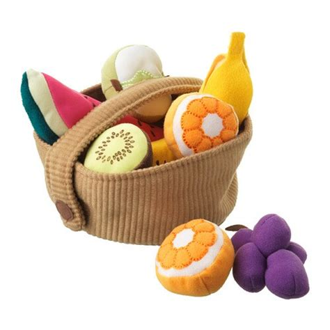 duktig  piece fruit basket set ikea