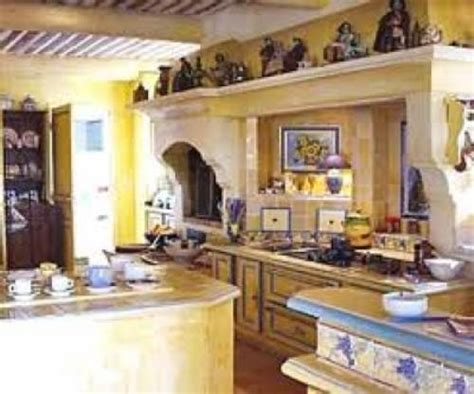 country kitchen in yellow and blue the interior design inspiration board