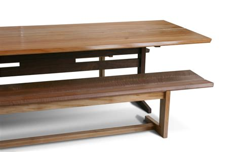 trestle table bench kate s trestle benches city joinery