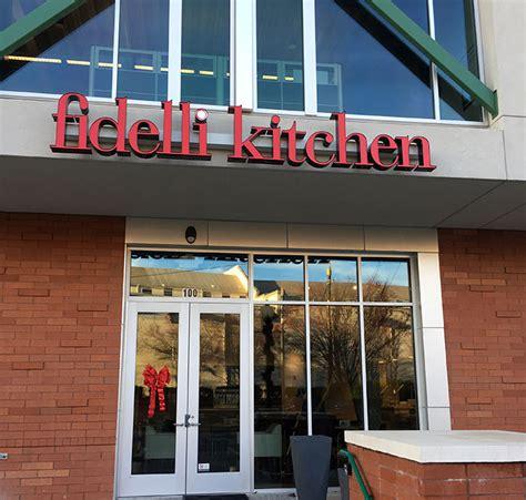 Fidelli Kitchen Menu by Fidelli Kitchen A Fast Casual Italian Restaurant Is Now