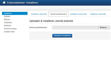 file hosting template een template installeren joomla documentation