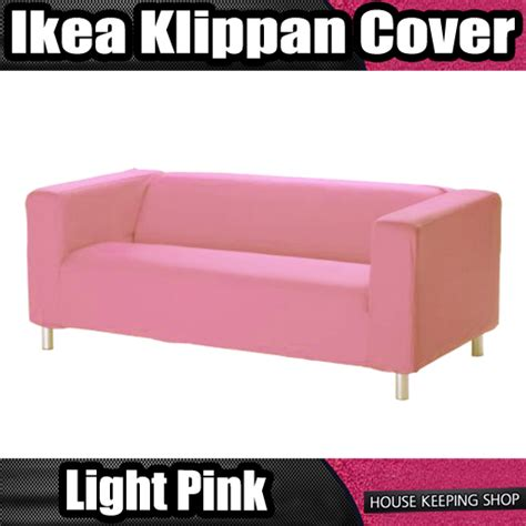 ikea pink sofa baby pink new custom cover slipcover to fit ikea klippan 2