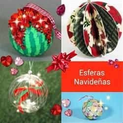 tu arbol de navidad esferas navide 241 as para tu 225 rbol de navidad manualidades