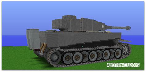Feature Wall by Tiger I Tank Minecraft Project