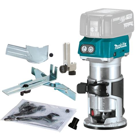 makita router template guide makita drt50zx4 18v lxt brushless cordless router