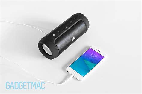Wireless Charge Standing Original Bnib Jbl Charge 2 Portable Wireless Speaker Review Gadgetmac