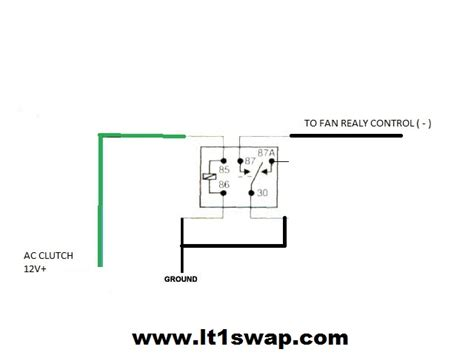 ac fan relay wiring wiring diagrams schematics