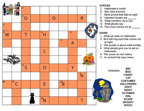 easy crossword puzzles online games free halloween crossword puzzles for middle school