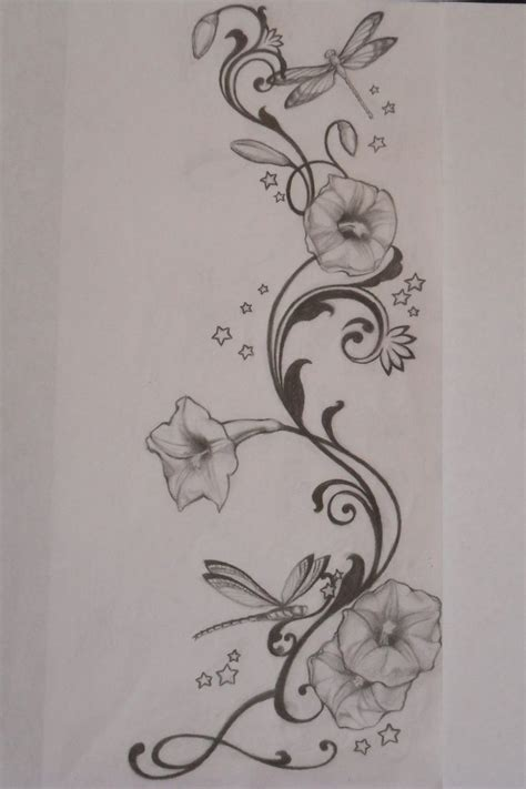 morning glory flower tattoo designs pin by alysha gregory on tattoos
