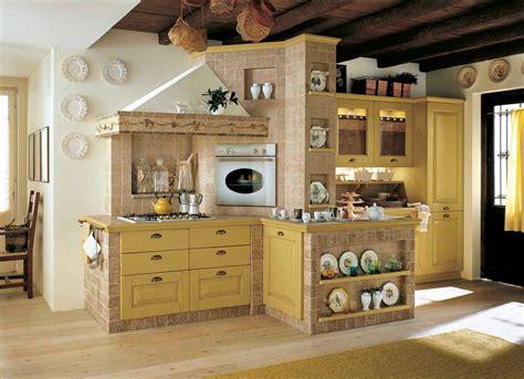piastrelle rustiche cucina cucina in muratura 70 idee per cucine moderne rustiche