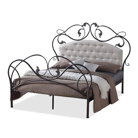 queen size metal headboards metal headboards queen bed frames wallpaperhd fabric