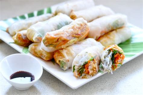Rolls With Rice Paper - rice paper rolls