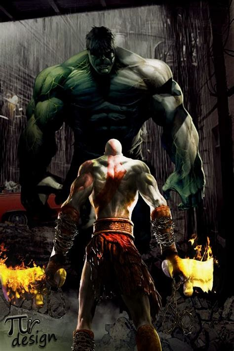 movie thor vs kratos kratos vs the hulk let see if almighty kratos even