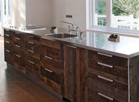 reclaimed wood cabinets for kitchen salvaged kitchen cabinets nifty homestead