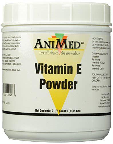 vitamin e supplement for horses animed vitamin e powder supplement for horses 2 5 pound