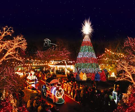 Christmas Light Show Near Me What Is Ozark Mountain Christmas The Branson Blog By