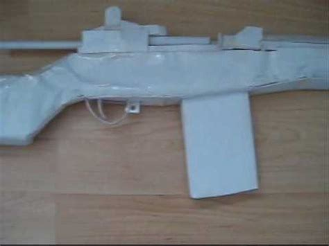 How To Make A Paper Mp5 - how to make a paper mp5 part 2 doovi