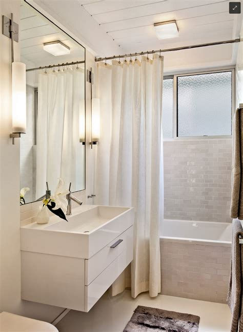 White Bathroom Tile Ideas Bathroom Stunning White Small Bathroom Decoration Using Plain White Bathtub Curtain Including