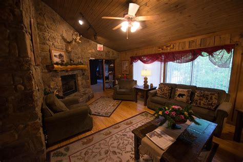 pet family friendly cabin  wifi fireplace resort