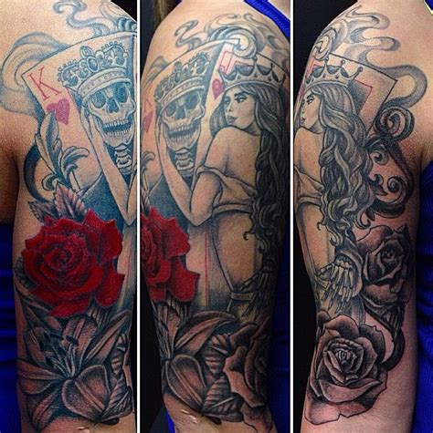 queen tattoo bangkok collection of 25 beautiful queen of heart and rose