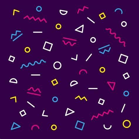 memphis pattern ai colorful memphis pattern vector free download