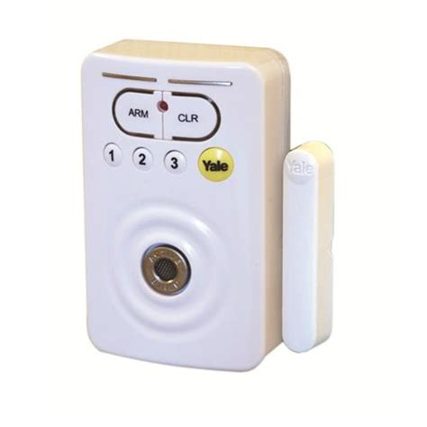 yale saa8012 single room alarm with door contact single