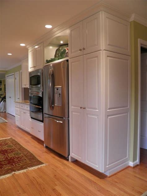 over the refrigerator cabinet standard depth refrigerator ideas pictures remodel and decor