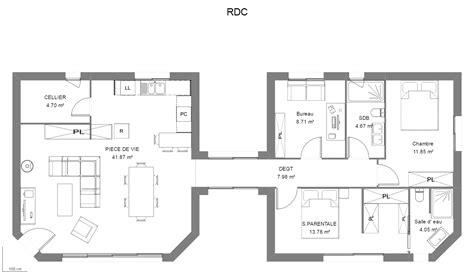 plan maison 騁age 3 chambres constructeur maisons personnalis 233 es maison heraud