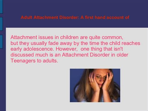 attachment theory in building connections between children and parents books attachment disorder presentation