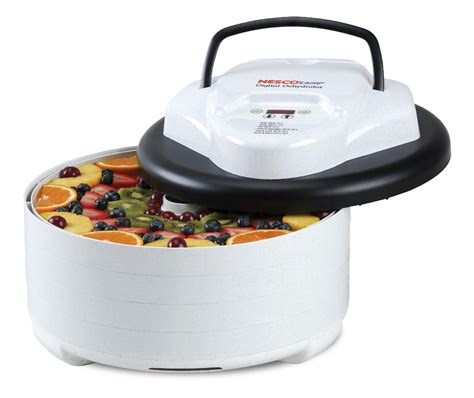 nesco professional 600w 5 tray food dehydrator fd 75pr nesco fd 77dt 600w digital food dehydrator