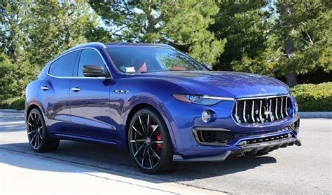 maserati levante blue 2018 maserati levante s price specs review