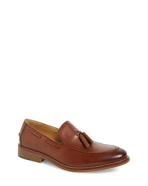 cooper shoes loafers g h bass co cooper tassel loafer in brown for lyst