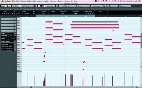 cubase drum pattern editor tutorial midi key editor youtube