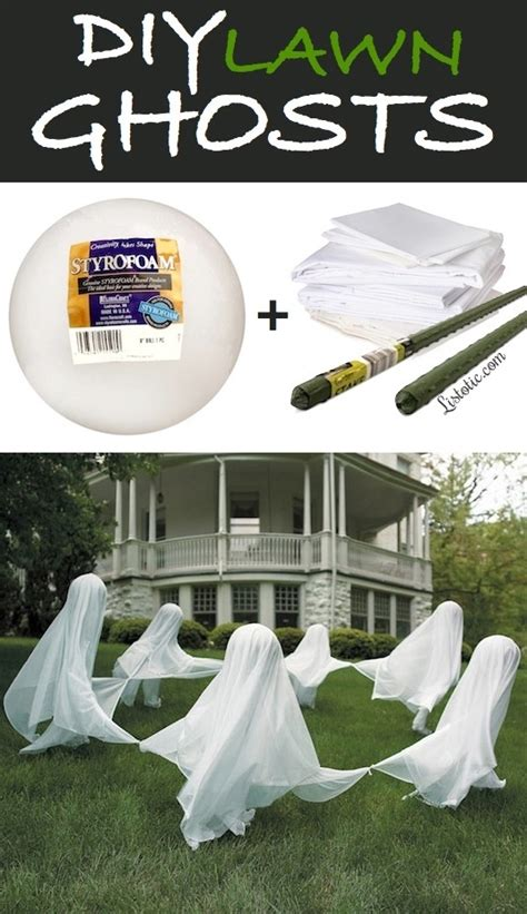 16 easy but awesome homemade halloween decorations with diy outdoor halloween decorations the idea room