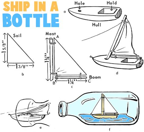 How To Make Ship In Paper - monday ship inside a wine bottle vinum vine