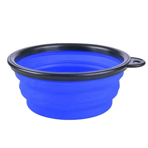 portable water bowl cat feeding bowl puppy water collapsible portable bowls feeder dish ebay