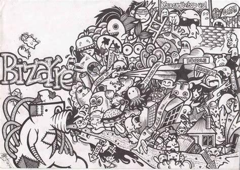 doodle hitam putih les 198 meilleures images 224 propos de coloriages sur