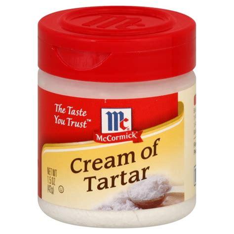 Of Tartar Mccormick Of Tartar