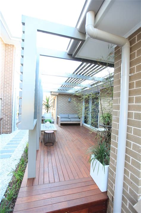 enclosing a pergola enclosed outdoor room and courtyard with open pergola
