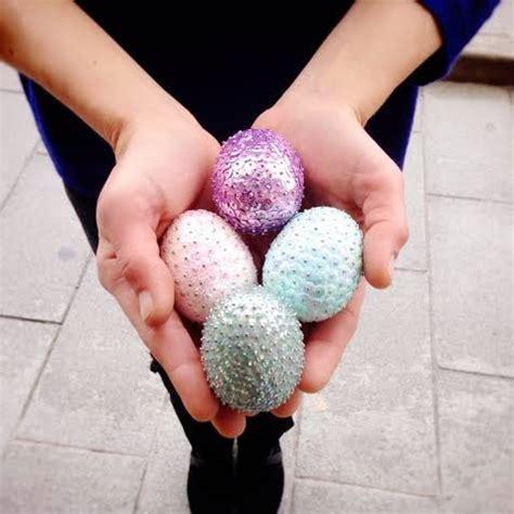 decorar huevos porexpan blanco y negro huevos de pascua ii