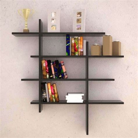 ideas excellent living room wall shelves  display book