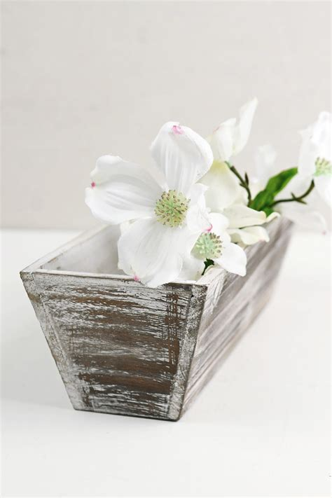 white planter boxes white washed tapered 4x12 planter boxes wood