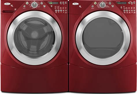 washing machine colors new color washer and dryer by whirlpool duet