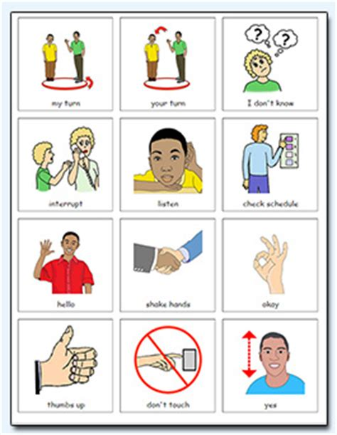 Special Education Picture Cards