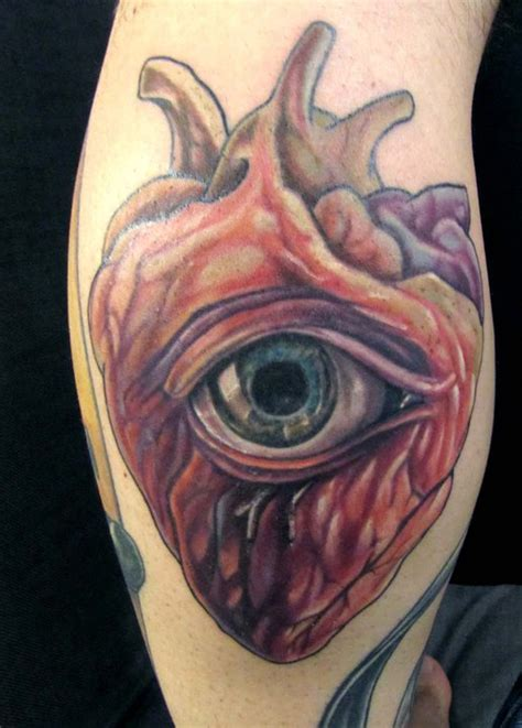 eyeball tattoo heart heart with eye by doc garlato tattoo on deviantart