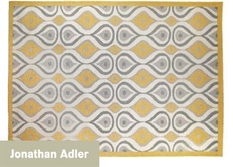 jonathan adler rugs color me luxurious jonathan adler plume rug