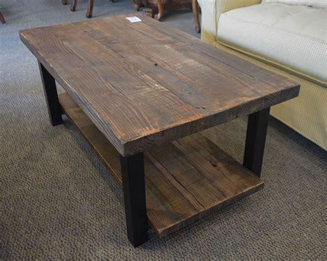 rustic metal coffee table wood metal rustic coffee table home