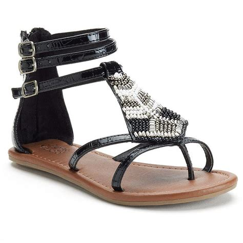 mudd sandals mudd beaded gladiator sandals from kohl s epic